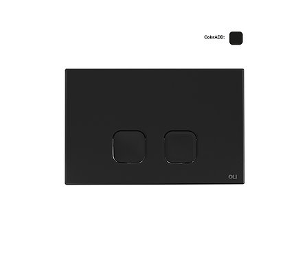 Tecla Plain soft-touch negra