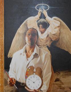Self portrait of Edward Clay Wright jr.