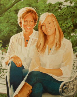 Portrait of Lori and Nicole