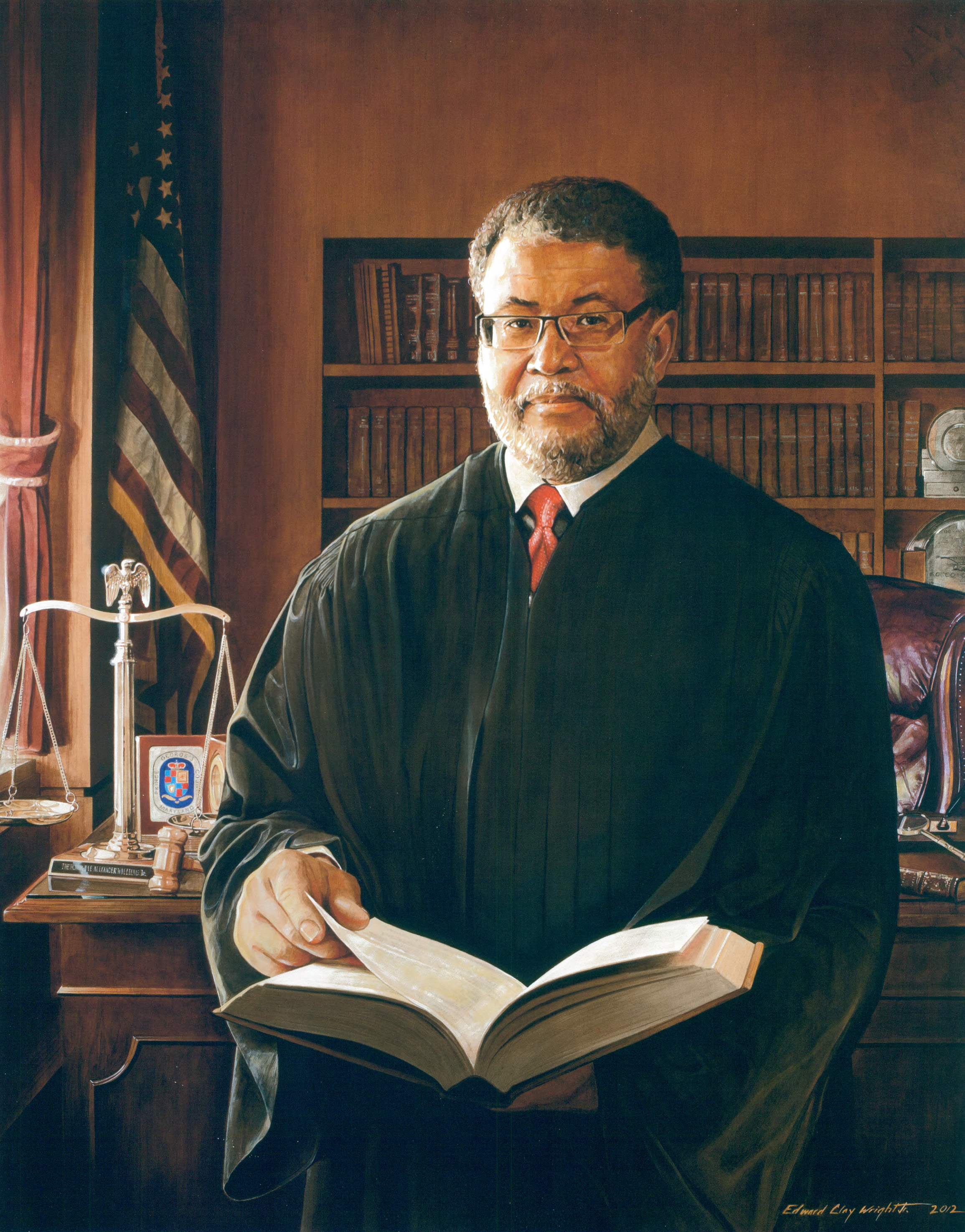 Official portrait of The Honorable Judge Alexander Williams Jr.