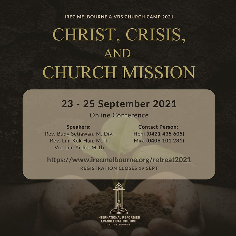FBS will be joining Melbourne's conference: Christ, Crisis and Church Mission