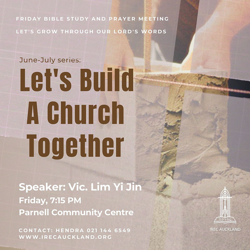 Let's Build A Church Together