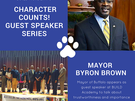 Mayor Byron Brown Talks Trustworthiness and Character at BPSD School