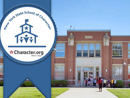 Harvey Austin Named New York State School of Character by Character.org
