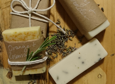 Hand made soap and body wash with natural ingredients.