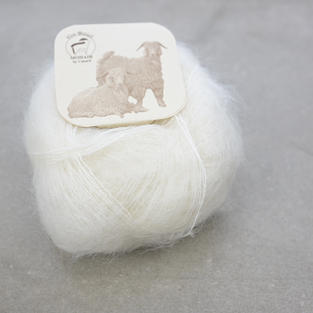 Mohair by Canard, brushed lace