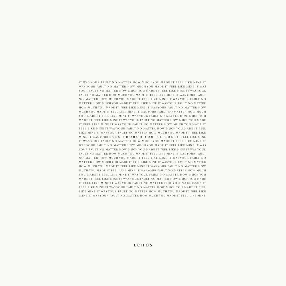 Artwork for Echos' debut album 'Even Though You're Gone'