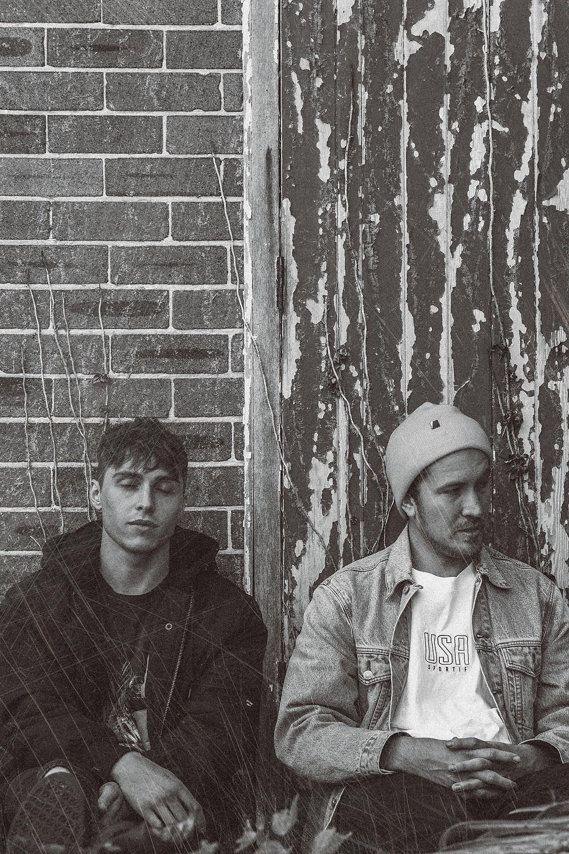 Jonathan Bowden and Jacob Pearson of Australian band PLGRMS
