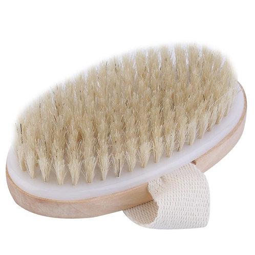 Dry Brush Exfoliation