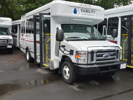VIABILITY receives 10 new minibuses via a community grant