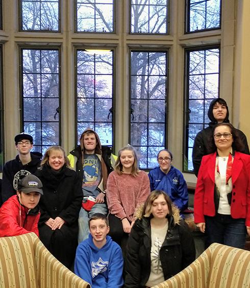 Auburn HS Students at Cornerstone Bank J