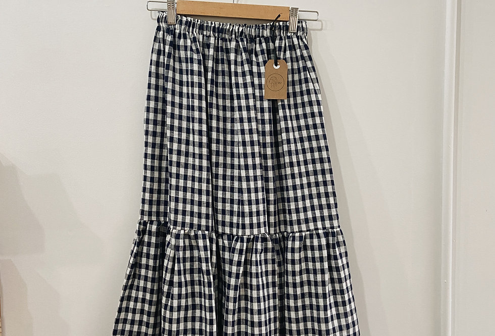 Gingham Nat Skirt (Last chance to buy!)