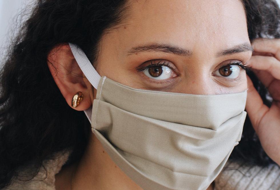 LILA Pleated Face Mask