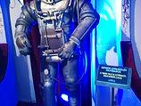 Primer traje de astronauta