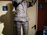 El flautista de Hamelín, estatua