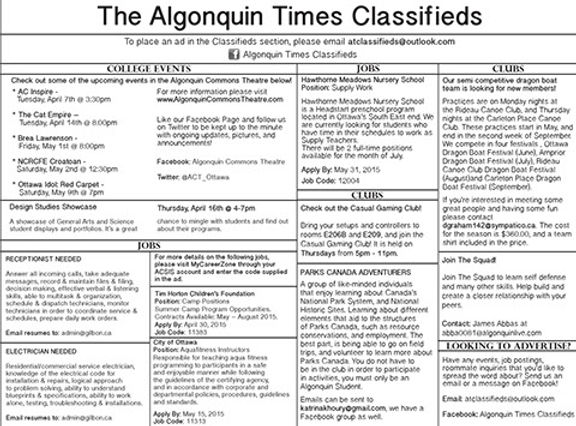Algonquin Times Classified Section.jpg