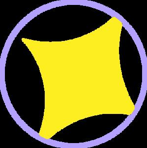 Stand-Alone Sparkle Graphic