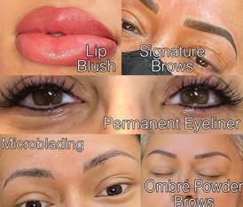 Lips, Brows & Eyeliner