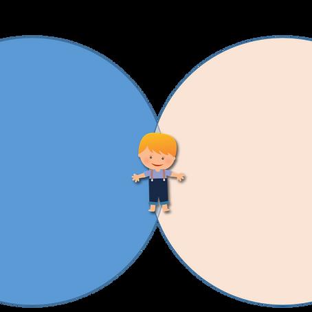 שני מעגלים וילד