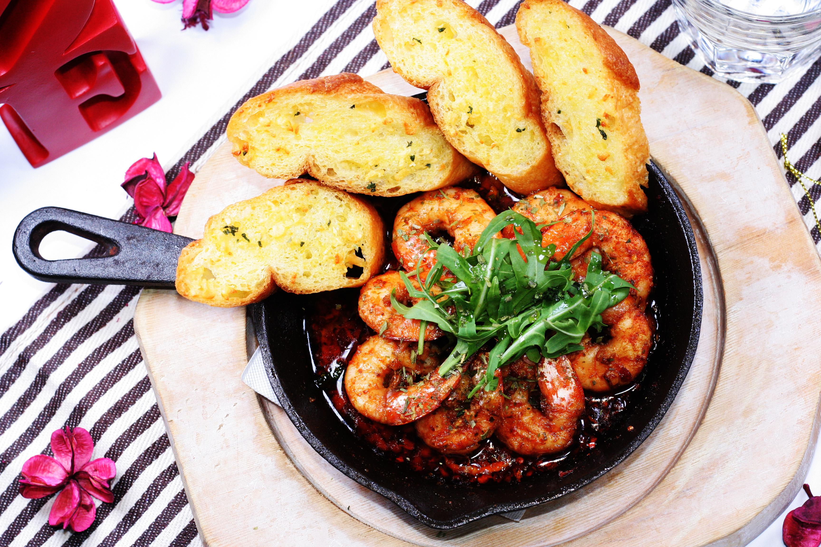 A-西班牙香蒜辣蝦