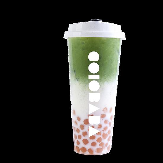 Matcha Milk Tea w/ Pearl