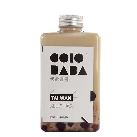 Old School Boba Milk Tea ( S )
