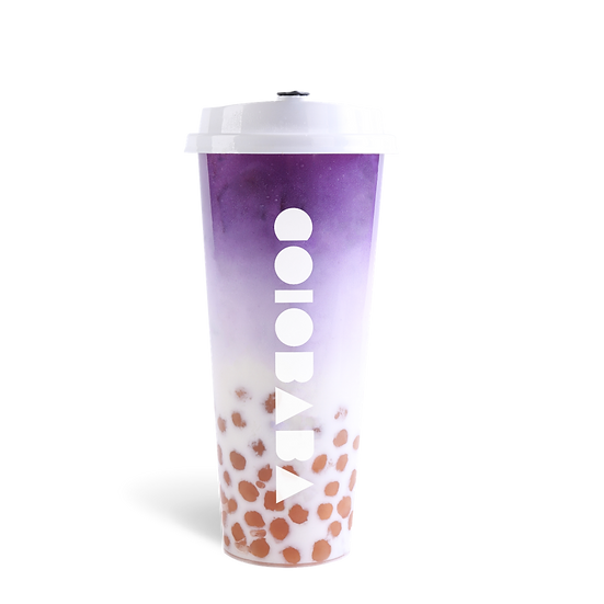 Black Wolfberry Milk Tea w/ Pearl