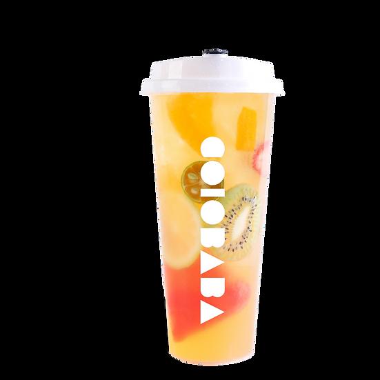Colorful Fruit Tea
