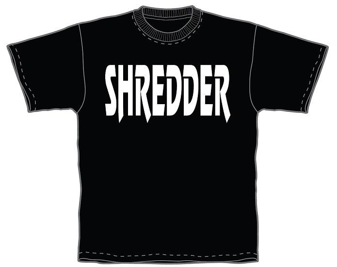 Shredder Logo shirt