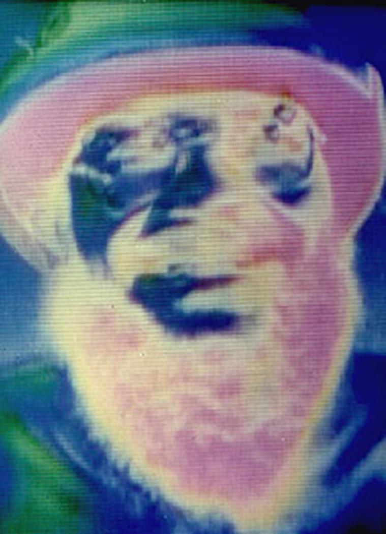 Image Processed Video Portrait of Dan Sandin, 1986