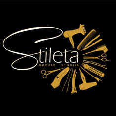 Stileta grožio studijos logotipas