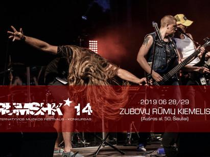 Atgimstantis festivalis RUMSHK'14 – dar daugiau alternatyvios muzikos ir įvairove stebinanti pro