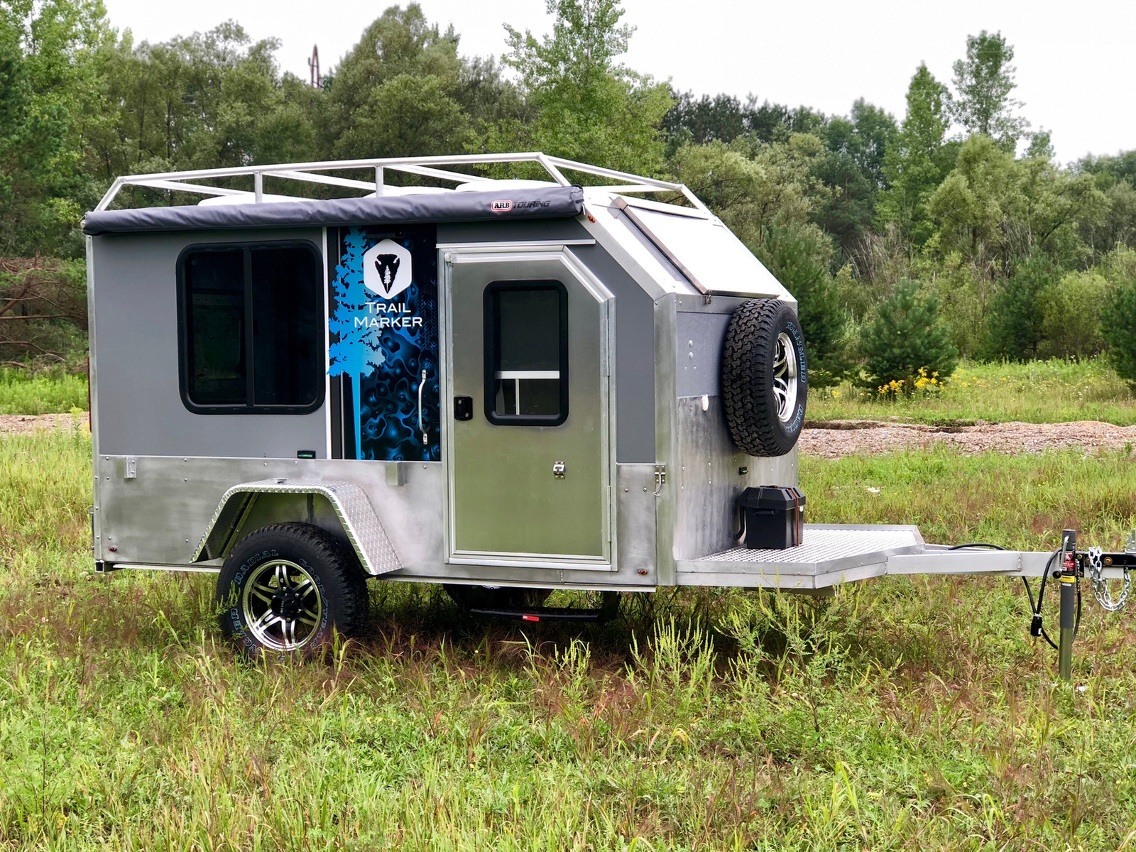 Lightweight Cargo Camper 9360 River Road Off Road