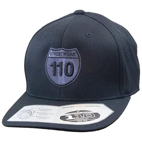 Original 110 South Logo Cap in Black/Grey