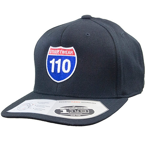 Original 110 South Logo Cap in Black