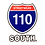 Thumbnail: 110 South Sticker Pack