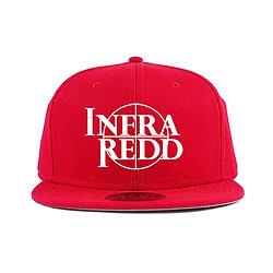 CROSS HAIR LOG CAP RED