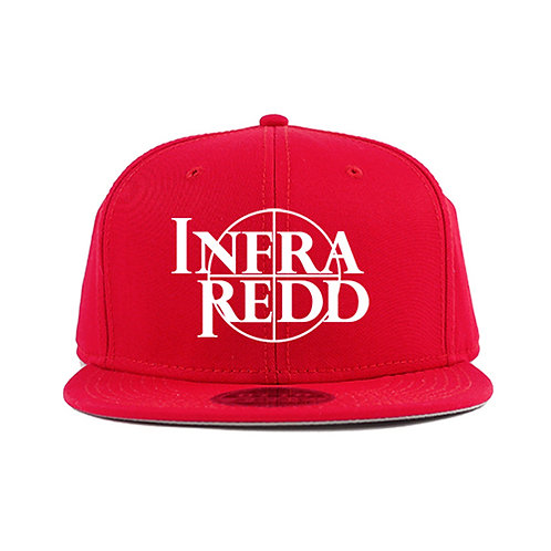 CROSS HAIR LOG CAP RED