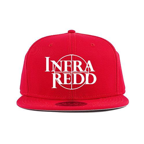 Cross Hair Logo Cap Red