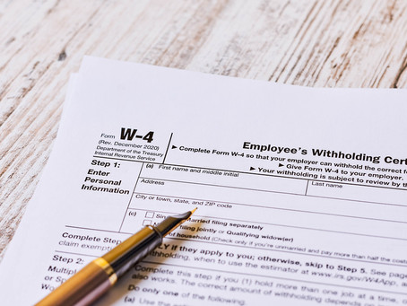 2020 Revised W-4 Form