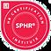 HR Certification by SPHR badge
