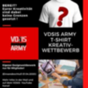 VDSIS Army T-Shirt Kreativ-Wettbewerb(1)