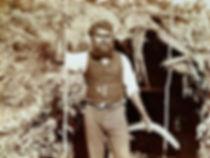 Stockman Aboriginal Australia Kylie throwstick hunting boomerang