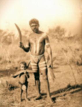 Aboriginal Hunting Boomerang Survival Throwstick Kylie Historic Photo