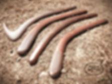 hardwood throwsticks hunting boomerangs