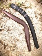 Faux Hardwood Kimberley With Black Karli Hunting Boomerangs