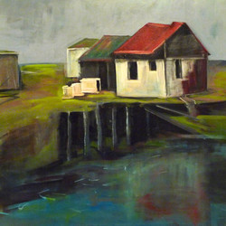 Not so Dark Harbour, Grand Manan, N.