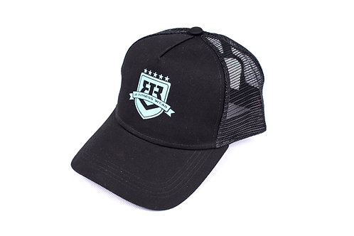 "IR FITNESS WEAR CAP ""LIMITED EDITION"" BLACK/BLUE"