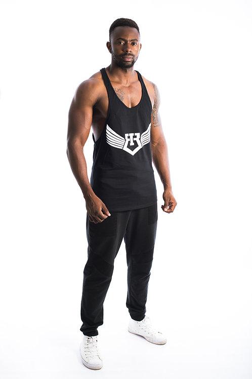 IR Fitness Wear TANK ( BLACK )