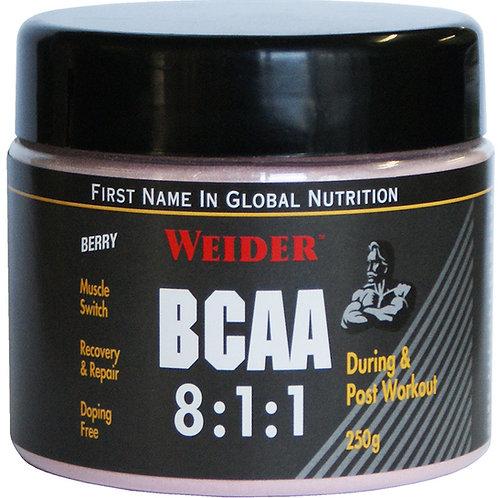 WEIDER BCAA 8:1:1 250G